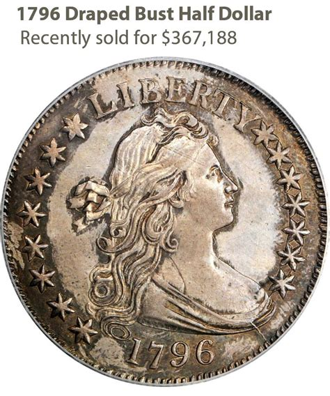 1796 Draped Bust Dollar - as saddle ridge hoard gold coins are set to hit the market
