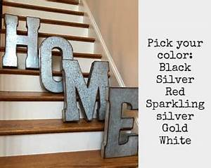 large wall letters etsy With large gold metal letters