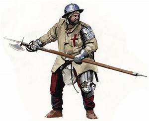 Foot Soldier nothing Knightly about this man at arms ...