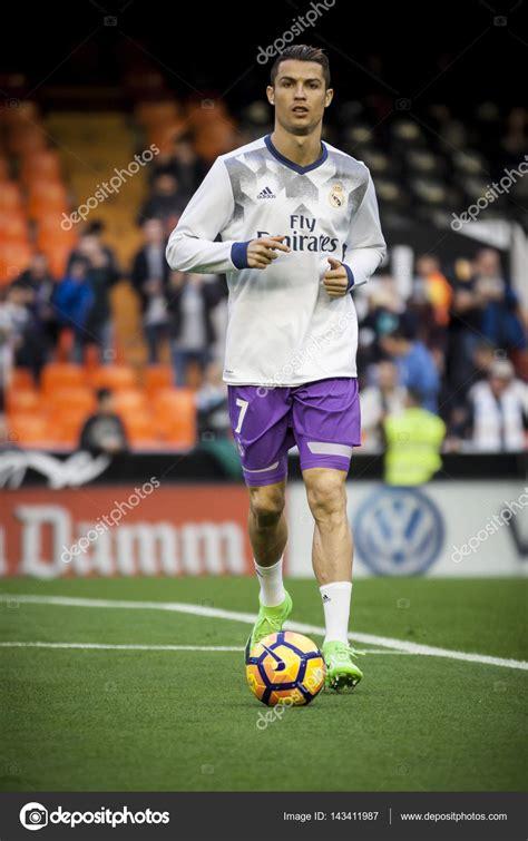 Cristiano Ronaldo during La Liga – Stock Editorial Photo ...
