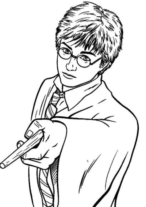 Get This Harry Potter Coloring Pages Printable Free 33661