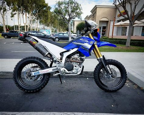 Dual Sport Tires On Wr250r