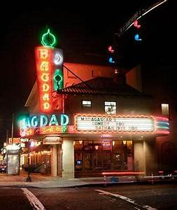 Bagdad Theater & Pub Portland Oregon Cool Neon Signs