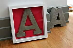 - M-Dashing - DIY Varsity Letter Art