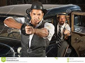Angry 1920s Era Gangsters With Guns Stock Photos - Image ...