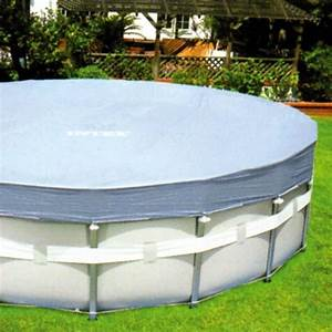baches de protection piscine tubulaire intex achat vente With bache hivernage piscine hors sol intex 10 liner pour piscine hors sol ronde liner piscine