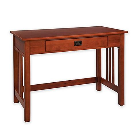 writing desk for bed alaterre mission writing desk bed bath beyond