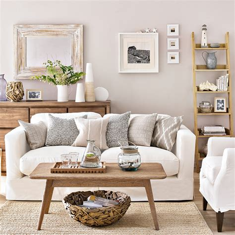 coastal living rooms  recreate carefree beach days