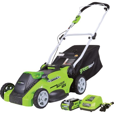 Greenworks Gmax 40v Cordless Lawn Mower — 16in Deck