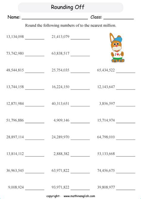 numbers    nearest  grade