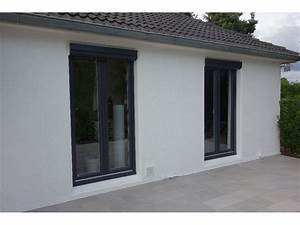 fenetre gris anthracite en pvc alu tryba With porte fenetre alu gris anthracite