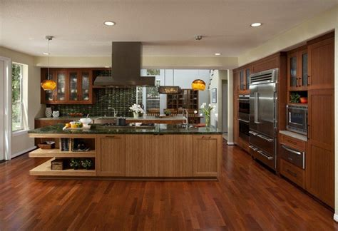bamboo kitchen design 20 of the most stunning kitchen island designs 1464