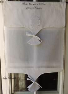 Rideau Brise Bise Lin Dentelle : 67 best images about rideaux brise bise on pinterest frances o 39 connor taupe and cuisine ~ Teatrodelosmanantiales.com Idées de Décoration