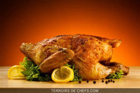 poulet roti viandes  volailles recettes galeries