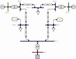 Pv System  Pv System One Line Diagram