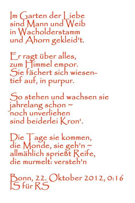 Der Garten Gedicht by Im Garten Der Liebe Poetry Sights Wiengrid
