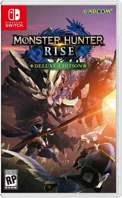 Hunter Monster Rise Nintendo Switch Edition Deluxe