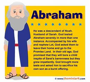 """Abraham, whose name means """"a Father of Many Nations"""", is ..."""