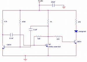 Mosfet Tester Circuit Diagram And Instructions