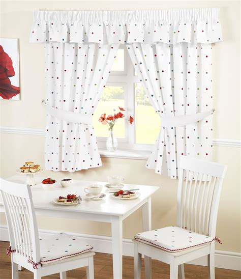 Drapes In Kitchen - ready made kitchen window curtains pelmets seat pads