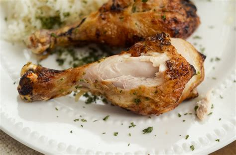 chicken teriyaki legs fryer air ninja foodi coat them cooking beginning once