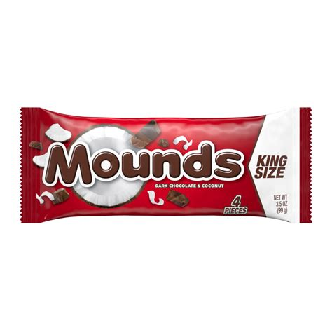 mounds king size candy bar product nutrition