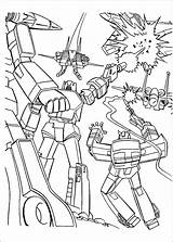 Transformers Coloring Pages sketch template