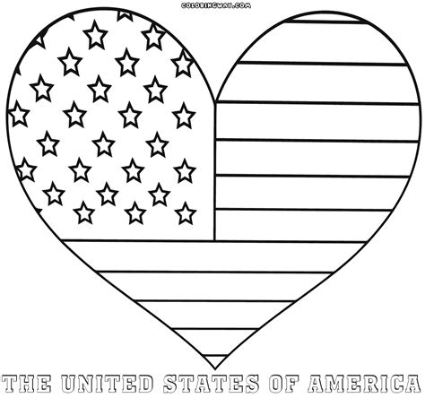 Coloring Flag by American Flag Coloring Pages Coloring Pages To
