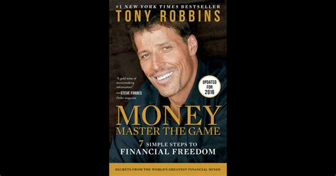 Money Master The Game By Tony Robbins On Ibooks