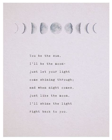 Sun And Moon Quotes Best 25 Moon Quotes Ideas On Moon Poems Moon