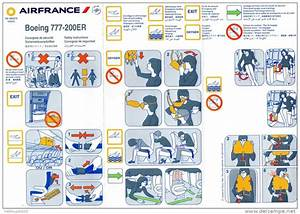 Ikea Black Friday France : consignes de securite safety card boeing 777 200er air ~ Dailycaller-alerts.com Idées de Décoration