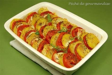 gratin de tomates et pommes de terre 224 la mozzarelle et