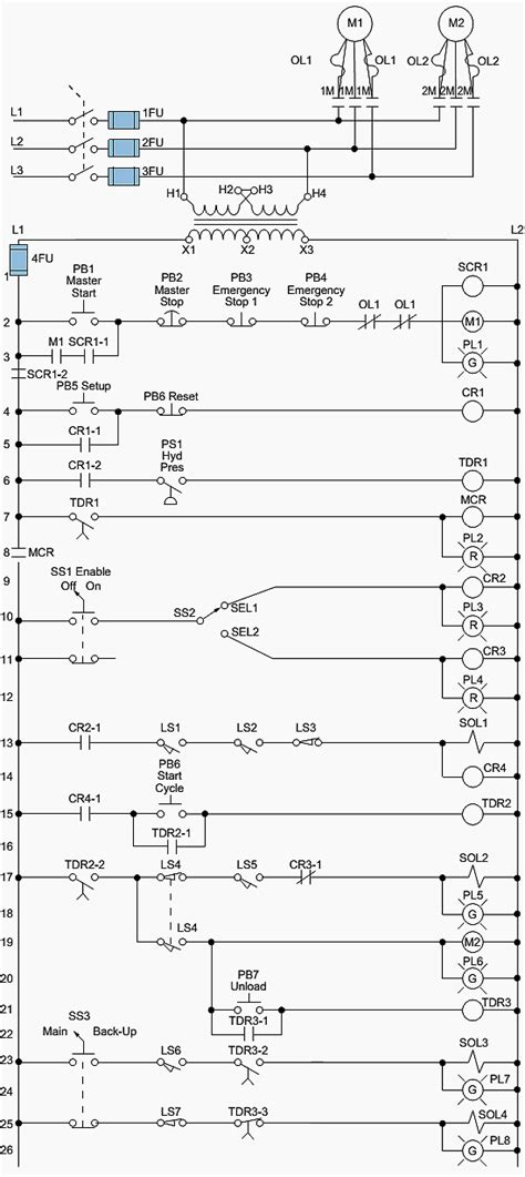 electromechanical relay diagram tec elect electrical projects electrical diagram