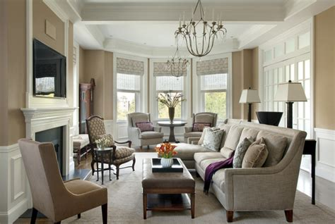 Traditional Living Room : Commonwealth Avenue Back Bay Living Room-traditional