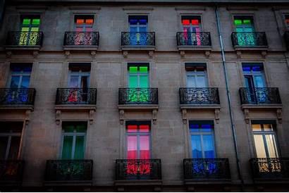 Hotel Dijon Colorful Door Background Building Wallpapers