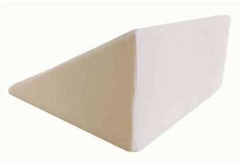 the wedge pillow intevision foam wedge bed pillow for your back