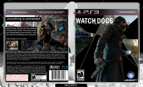 Watch Dogs Playstation 3 Box Art Cover By Harry192313