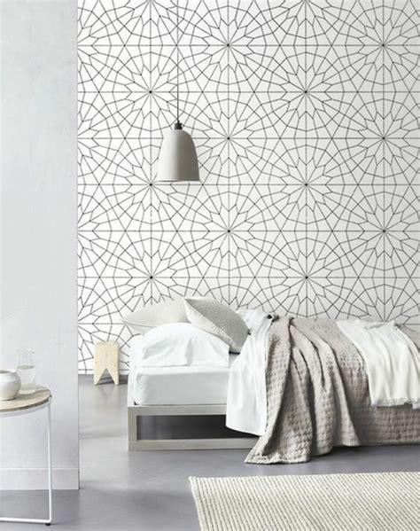 couleur tapisserie chambre 1001 modèles de papier peint 3d originaux et modernes