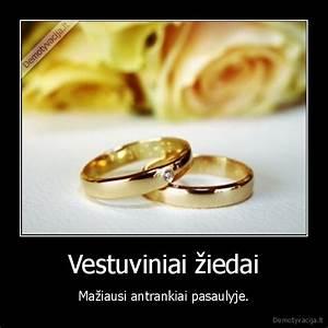 vestuviniai ziedai demotyvacijalt With wedding ring joke