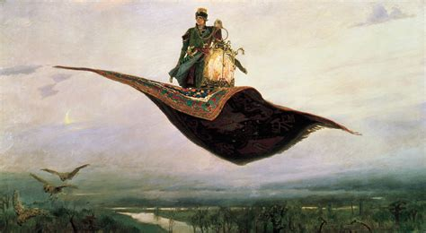 Too Much Art  Victor Vasnetsov (18481926), Flying Carpet