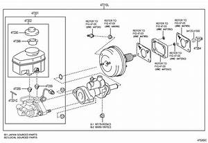 Toyota Tundra Brake Booster Assembly  With Master Cylinder