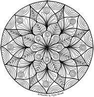 Die motive werden häufig mit dekorativen figuren und musterartigen. 199 best Mandalas zum Ausdrucken für Kinder + Erwachsene images on Pinterest | Art activities ...