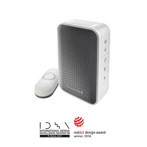 series 3 in doorbell with strobe light and push button honeywell