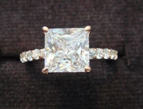 vintage princess cut engagement ring designs trends