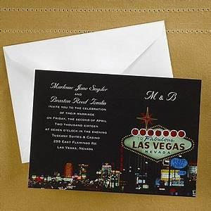 9 best las vegas wedding invitations images on pinterest for Las vegas wedding online
