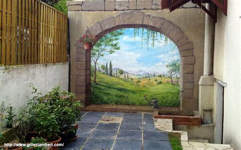 fresque murale d 233 cor peint et trompe l oeil peinture d 233 corative murale