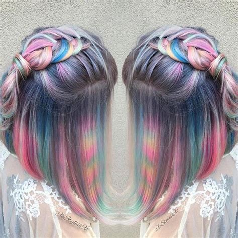 Colors To Dye Hair by Hair Color Trends Tye Dye Hair Color Trend Vogue