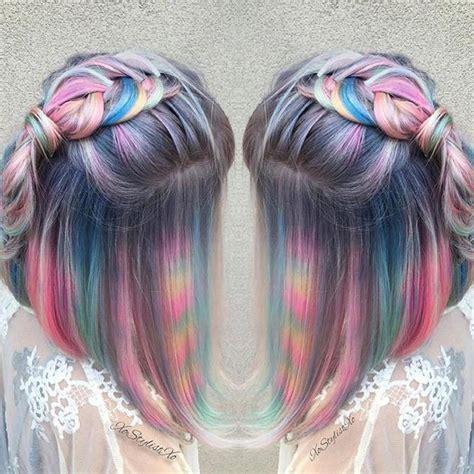 Dye Hair by Hair Color Trends Tye Dye Hair Color Trend Vogue