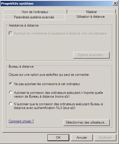 activer bureau à distance toutwindows com windows server 2008 t 226 ches de