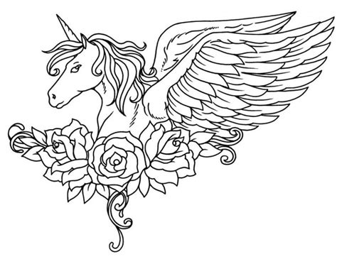 desenhos  imprimir  colorir unicornio  fichas  atividades